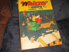 VINTAGE WHIZZER & CHIPS ANNUAL 1978 IPC GREAT STORIES & ILLUSTRATIONS
